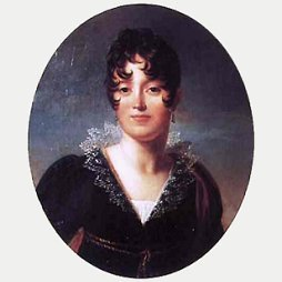 Portrait of D&eacute;sir&eacute;e Clary