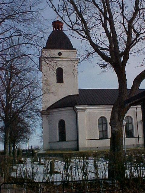 The Church at Väderstad, built in the 1820s