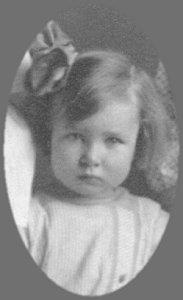 Hazel Lundgren, age 5