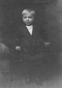 Kenneth Everett Zetterberg, about 2 years