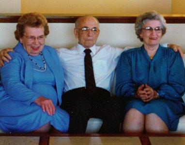 Helen, Kenneth, and Lois Zetterberg, circa 1975