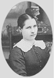 Karin Johnson, circa 1884