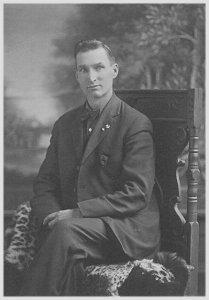 Swan Edwin Lundgren, December 1918